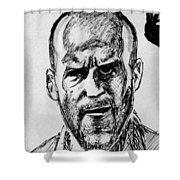 Jason Statham Shower Curtain