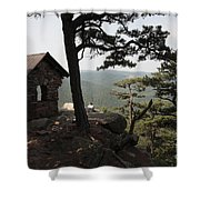 Cranny Crow Overlook At Lost River State Park Shower Curtain