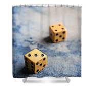 Craps Shower Curtain