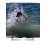 Wave Crashing Shower Curtain