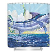 Crasher Off0034 Shower Curtain by Carey Chen