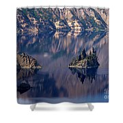 Crater Lake 2 Shower Curtain