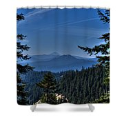Crater Lake 3 Shower Curtain