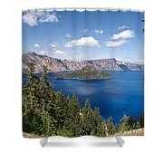 Crater Lake National Park Shower Curtain