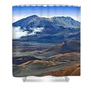 Craters And Cones Shower Curtain