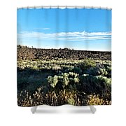 Craters Of The Moon 3 Shower Curtain