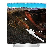 Craters Of The Moon Shower Curtain