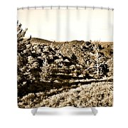 Craters Of The Moon1 Shower Curtain