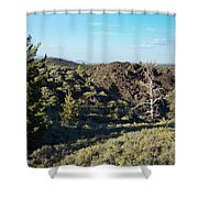 Craters Of The Moon2 Shower Curtain