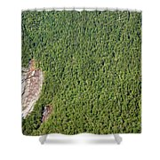 Crawford Notch State Park - White Mountains New Hampshire Shower Curtain