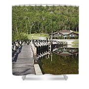Crawford Notch State Park - White Mountains Nh Usa Shower Curtain
