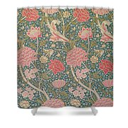 Cray Shower Curtain by William Morris
