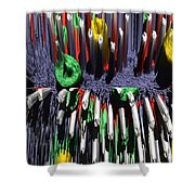 Crayon Explosion Shower Curtain