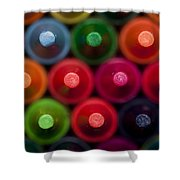 Crayon Tips 1 A Shower Curtain