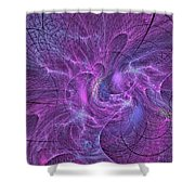 Crazy Cartesians-2 Shower Curtain