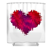 Crazy Love 1 Shower Curtain