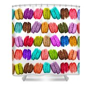 Crazy Macarons  Shower Curtain