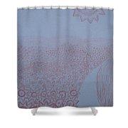 Crazy Quilt Star Gown Shower Curtain