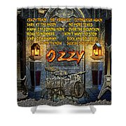 Crazy Train Shower Curtain