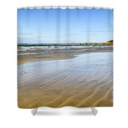 Creating Ripples Shower Curtain
