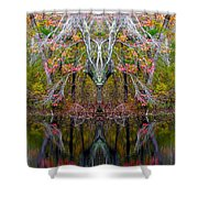 Creation 253 Shower Curtain