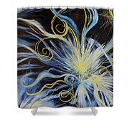 Creation First Day Light Shower Curtain