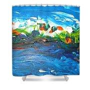 Creation II Shower Curtain