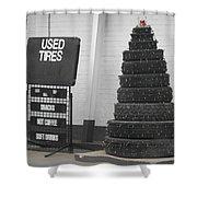 Creative Christmas Tree Shower Curtain