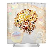 Creative Thinking Shower Curtain