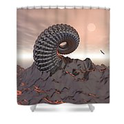 Creature Of The Mountain Shower Curtain