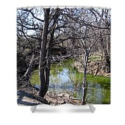 Creek In North Texas Shower Curtain