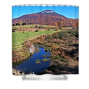 Creek In The Valley Shower Curtain