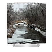 Creek Mood Shower Curtain