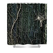 Creeper Shower Curtain by Andrew Paranavitana