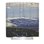 Creeping Fog Shower Curtain