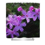 Creeping Phlox Shower Curtain