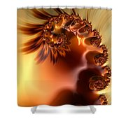Creme Brulee  Shower Curtain by Heidi Smith