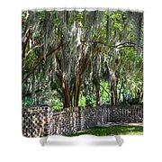 Crepe Myrtles Of Middleton Place Shower Curtain