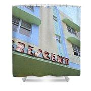 Crescent Hotel Shower Curtain