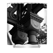 Crescent Moons Shower Curtain