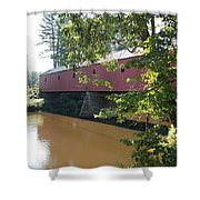 Cresson Bridge Shower Curtain