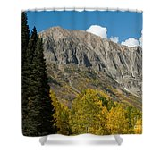 Crested Butte Colorado Shower Curtain