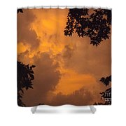 Cresting The Storm Clouds Shower Curtain