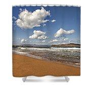 Cretan Beach Shower Curtain
