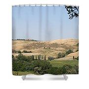 Crete Senesi Shower Curtain