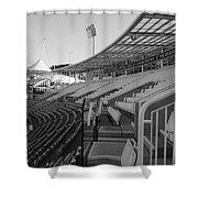 Cricket Pavilion Shower Curtain