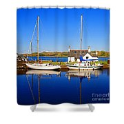 Crinan Canal Shower Curtain by Craig B