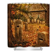 Crispsell Memorial French Church  Shower Curtain
