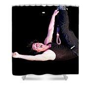 Criss Angel Breaks Free Shower Curtain