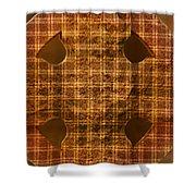 Criss-cross Shower Curtain